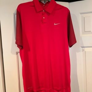 Nike Tiger Woods golf polo